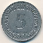 ФРГ, 5 марок (1986 г.)