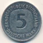 ФРГ, 5 марок (1988 г.)
