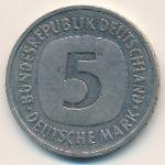 ФРГ, 5 марок (1989 г.)