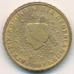 Нидерланды, 10 евроцентов (1999–2001 г.)