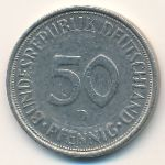 ФРГ, 50 пфеннигов (1972 г.)
