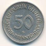 ФРГ, 50 пфеннигов (1980 г.)