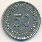 ФРГ, 50 пфеннигов (1989 г.)