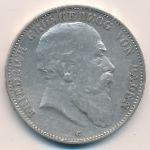 Баден, 5 марок (1902 г.)