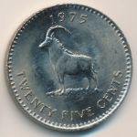Родезия, 25 центов (1975 г.)