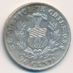 Чили, 20 сентаво (1879 г.)