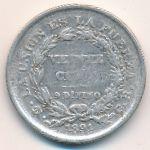 Боливия, 20 сентаво (1891 г.)