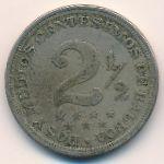 Панама, 2 1/2 сентесимо (1907 г.)