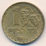 Испания, 1 песета (1937 г.)