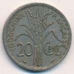 Французский Индокитай, 20 центов (1939 г.)