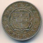 Ямайка, 1 фартинг (1882 г.)