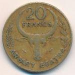 Мадагаскар, 20 франков (1980–1989 г.)