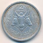 Мадагаскар, 2 франка (1948 г.)