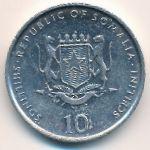 Сомали, 10 шиллингов (2002 г.)
