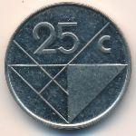 Аруба, 25 центов (2001 г.)