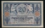 Германия, 20 марок (1915 г.)