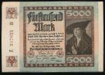 Германия, 5000 марок (1922 г.)