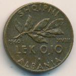 Албания, 0,1 лек (1940 г.)