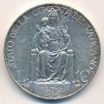 Ватикан, 10 лир (1936 г.)