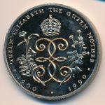 Остров Святой Елены и острова Вознесения, 2 фунта (1990 г.)