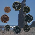 Остров Святой Елены и острова Вознесения, Набор монет (2003 г.)