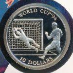 Острова Кука, 10 долларов (1992 г.)