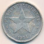Куба, 1 песо (1934 г.)