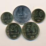 Таджикистан, Набор монет (2017 г.)