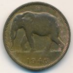 Бельгийское Конго, 1 франк (1946 г.)