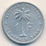 Руанда-Урунди, 1 франк (1958 г.)