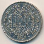 Западная Африка, 100 франков (1969 г.)