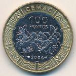 Центральная Африка, 100 франков КФА (2006 г.)