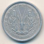 Французская Западная Африка, 1 франк (1948 г.)