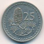 Кипр, 25 мил (1981 г.)