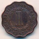 Британский Гондурас, 1 цент (1973 г.)