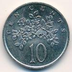 Ямайка, 10 центов (1989 г.)