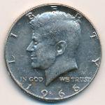 США, 1/2 доллара (1966–1969 г.)