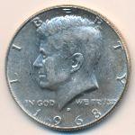США, 1/2 доллара (1966–1968 г.)