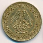ЮАР, 1/2 цента (1962 г.)