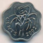 Свазиленд, 10 центов (2002 г.)