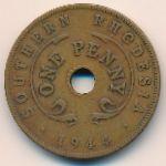 Южная Родезия, 1 пенни (1944 г.)