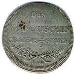Frankish District, 2/3 thaler, 1693