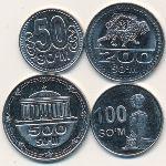 Узбекистан, Набор монет (2018 г.)