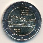 Мальта, 2 евро (2018 г.)