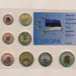 Эстония, Набор монет (2010 г.)