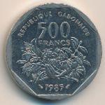 Габон, 500 франков (1985 г.)