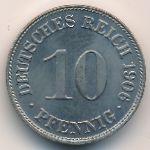 Германия, 10 пфеннигов (1906 г.)