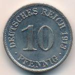 Германия, 10 пфеннигов (1913 г.)