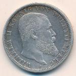 Вюртемберг, 2 марки (1899–1908 г.)