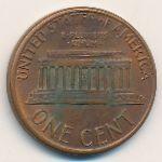 США, 1 цент (1987 г.)